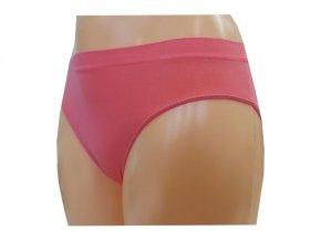 Dámské Bezešvé Kalhotky Novia Bikini Lososová