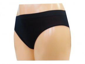 Dámské Bezešvé Kalhotky Novia Bikini Černá