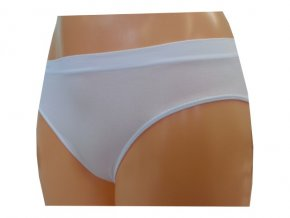 Dámské Bezešvé Kalhotky Novia Bikini Bílá