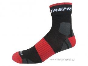 Sportovní Ponožky NOVIA Silvertex extreme červené