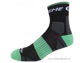 Sportovní Ponožky NOVIA Silvertex Extreme zelené