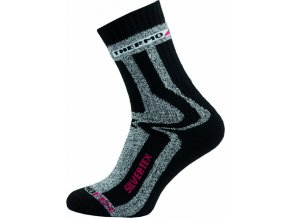 Sportovní Ponožky NOVIA Silvertex Thermo černé