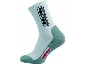 Sportovní Ponožky NOVIA Silvertex Xride 01 bílé