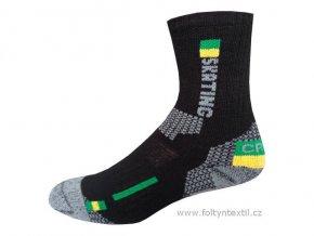 Sportovní Ponožky NOVIA Thermo Skating 03