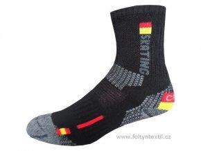 Sportovní Ponožky NOVIA Thermo Skating 01