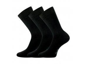 Zdravotní ponožky 3 kusy v balení Lonka Marcel černá