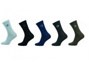 Pánské ponožky Novia 5 párů v balení erb