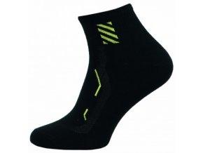 Pánské společenské ponožky Novia 5S žlutá