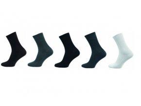 Zdravotní ponožky 5 kusů v balení Novia Medic mix barev