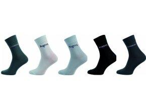 Bambusové ponožky 5 kusů v balení Novia Bambus 263 FB