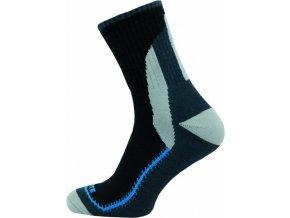 Sportovní Ponožky NOVIA Skate modročerná