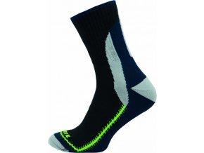 Sportovní Ponožky NOVIA Skate zelenočerná