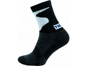 Froté Ponožky NOVIA 95FI černobílé