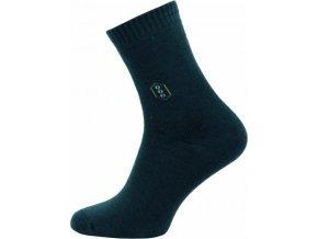 Froté Ponožky NOVIA 150N tmavě šedé
