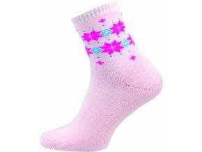 Dámské Froté Ponožky NOVIA 151N růžová