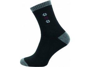Froté Ponožky NOVIA 152N černé