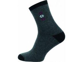 Froté Ponožky NOVIA 152N šedé