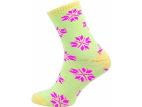 Dámské Froté Ponožky NOVIA 153N žluté