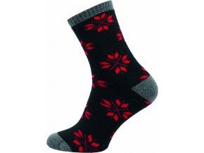 Dámské Froté Ponožky NOVIA 153N černé