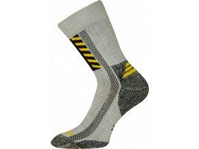 Pracovní Ponožky VoXX Power work světle šedá