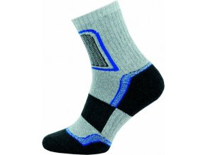 Ponožky NOVIA Trek- světle šedé
