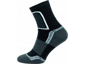 Ponožky NOVIA Trek- černé