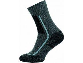 Thermo Ponožky NOVIA 100S šedé