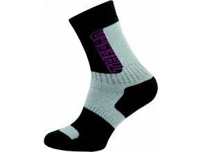 Thermo Ponožky NOVIA Silvertex 252N růžové
