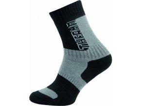 Thermo Ponožky NOVIA Silvertex 252N edé