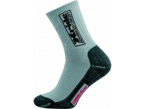 Sportovní Ponožky NOVIA Silvertex Xride šedé