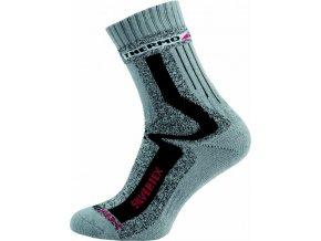 Sportovní Ponožky NOVIA Silvertex Thermo šedé