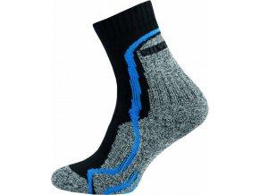 Thermo Ponožky NOVIA Silvertex Stripes modré