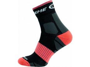 Sportovní Ponožky NOVIA Silvertex extreme oranžové