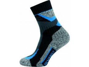 Sportovní Ponožky NOVIA Silvertex Alpinning modré