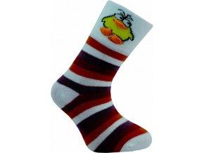Dětské ponožky Novia 47N 5 párů v balení mix vzorů kuře1