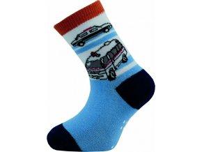 Dětské ponožky Novia 53N 5 párů v balení mix vzorů 1