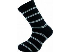 Dětské ponožky Novia 52S  5 párů v balení mix vzorů proužky 1