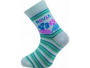Dětské ponožky Novia 129N 5 párů v balení mix vzorů 1