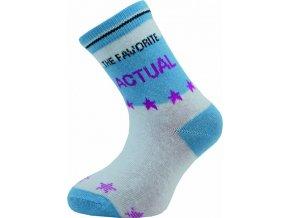 Dětské ponožky Novia 131N  5 párů v balení mix vzorů Actual 1