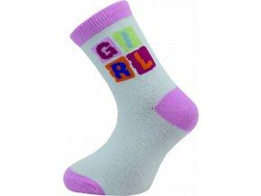 Dětské ponožky Novia 132N  5 párů v balení mix vzorů girl 1