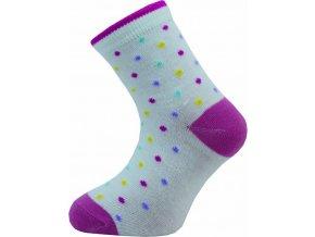 Dětské ponožky Novia 133N  5 párů v balení mix vzorů puntíky 1