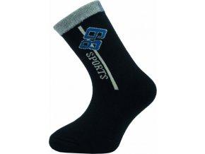 Dětské kotníkové ponožky Novia 135N 4 páry v balení mix vzorů1