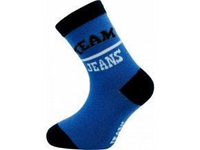 Dětské ponožky Novia 160N  5 párů v balení mix vzorů jeans 1
