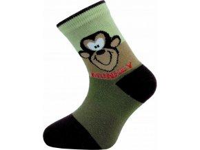 Dětské ponožky Novia 161N  5 párů v balení mix vzorů 1