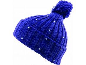 dámská čepice Novia N007 modrá