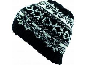Pánská čepice Novia N008 černá