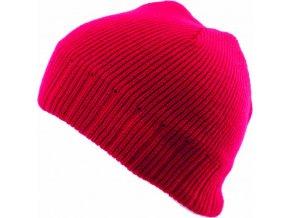 Pánská čepice Novia N009 červená