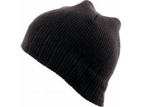 Pánská čepice Novia N009 hnědá