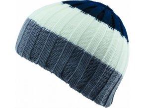 Pánská čepice Novia N011 šedobílá