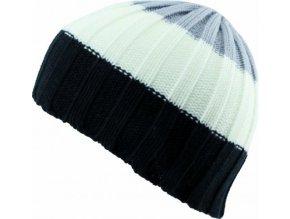 Pánská čepice Novia N011 černobílá